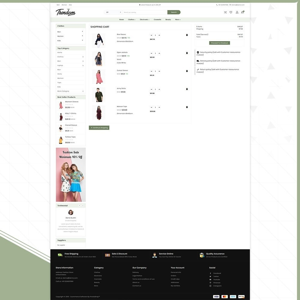theme - Fashion & Shoes - Femmes - Style Fashion Store - 5