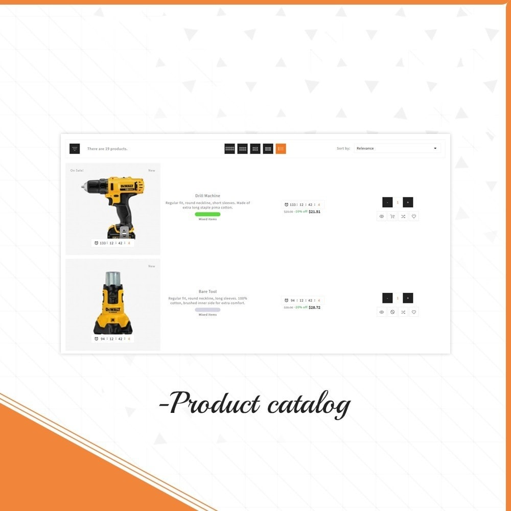 theme - Automotive & Cars - Outils Presicion - Tools & Machine Shop - 11