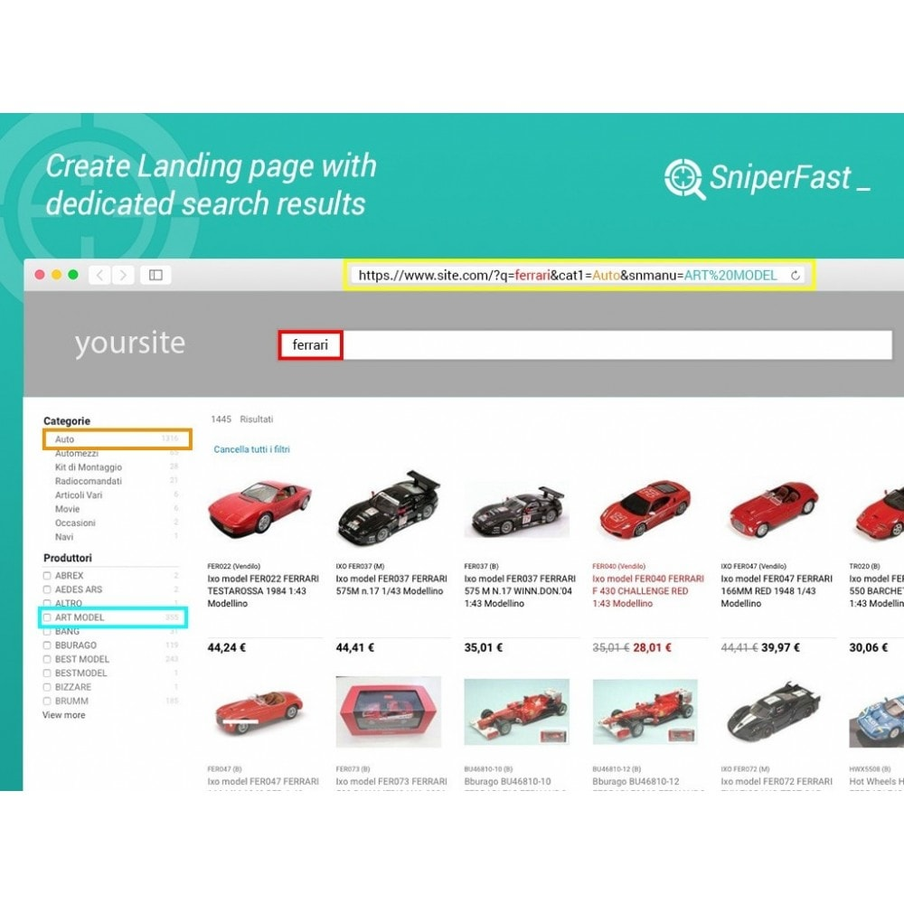 module - Pesquisa & Filtros - Fast and instant search for ecommerce - SniperFast - 4