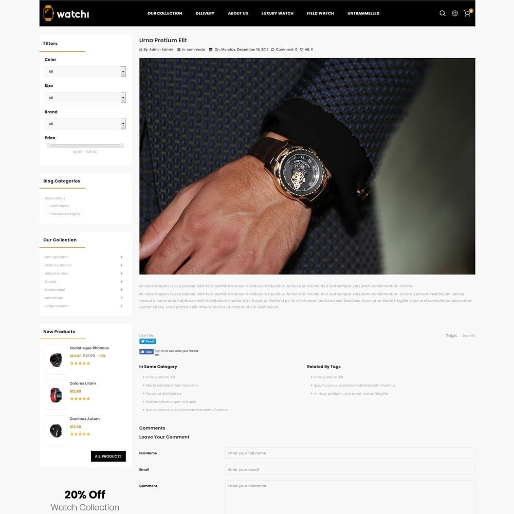 theme - Eletrônicos & High Tech - Watchi - The Watch Store - 7