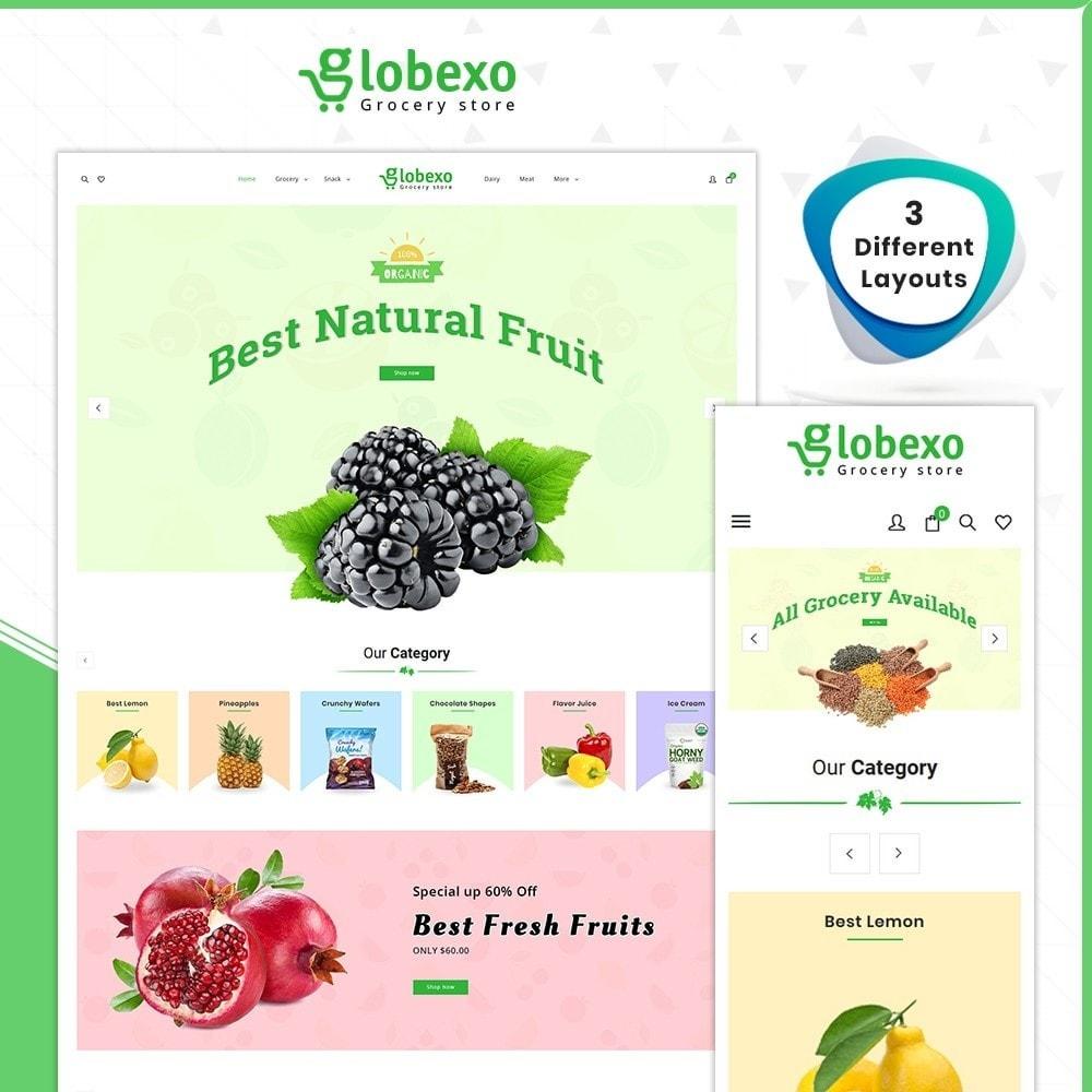 theme - Health & Beauty - Épicerie Globexo -Grocery Store - 1