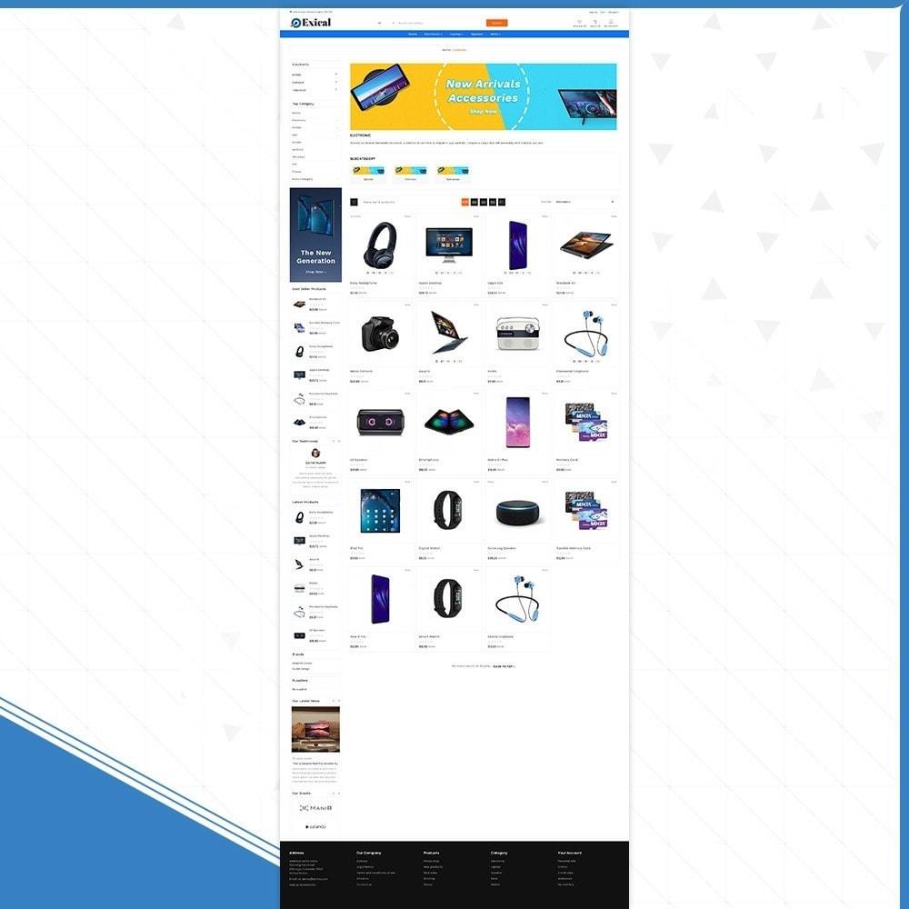 theme - Electronics & Computers - Électronique Exical Shop - 3