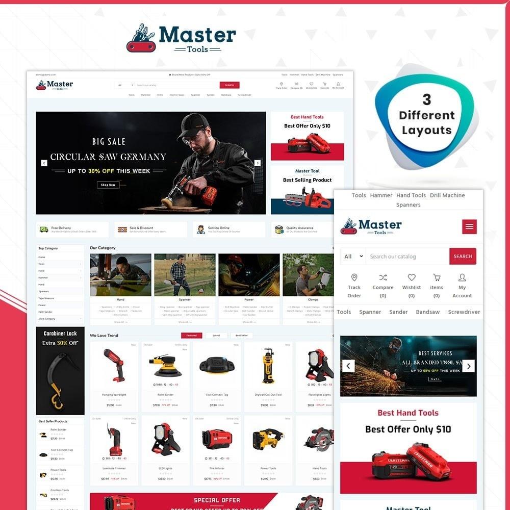 theme - Samochody - Master tools - Equipment Store - 1