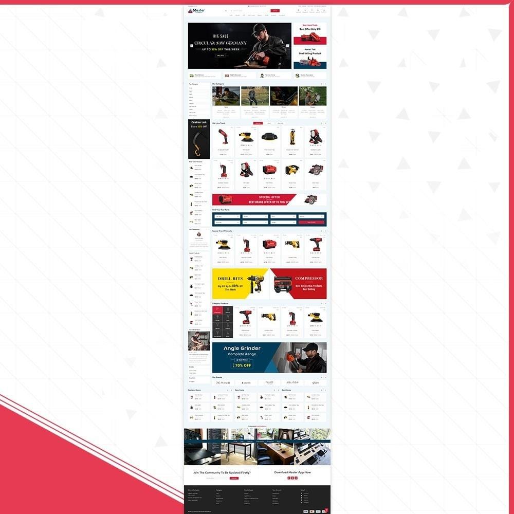theme - Samochody - Master tools - Equipment Store - 2