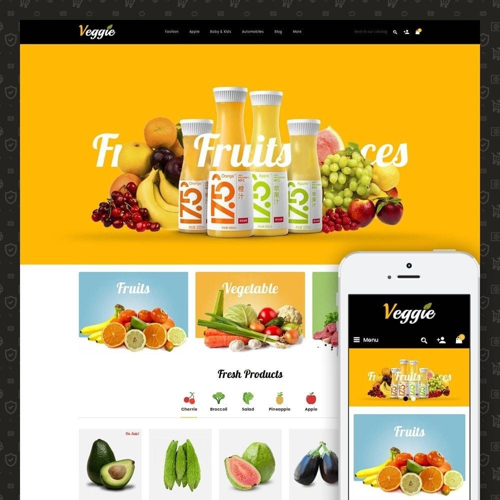 theme - Alimentation & Restauration - Veggie - Organic Store - 1