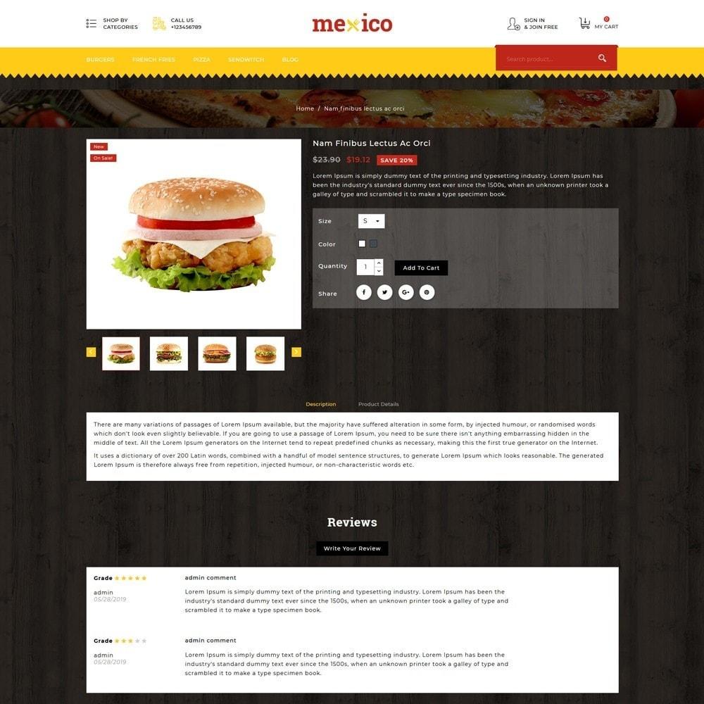 theme - Gastronomía y Restauración - Mexico Food Store - 5