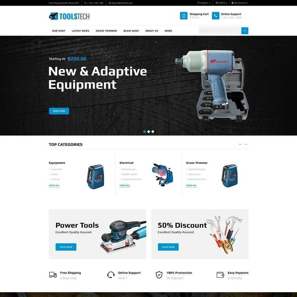 theme - Electrónica e High Tech - ToolTech - La tienda de herramientas - 5