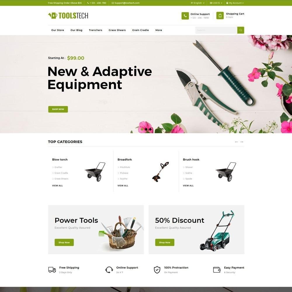 theme - Electrónica e High Tech - ToolTech - La tienda de herramientas - 6