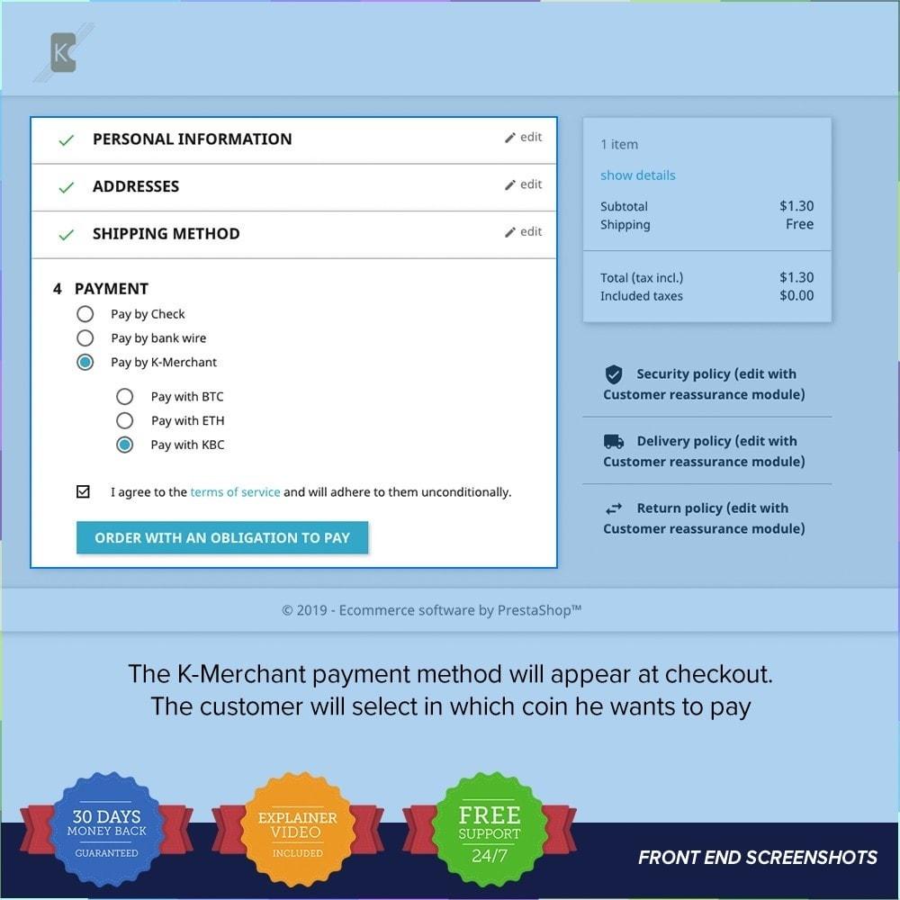 module - Altri Metodi di Pagamento - Sistema di pagamento K-Merchant - 3
