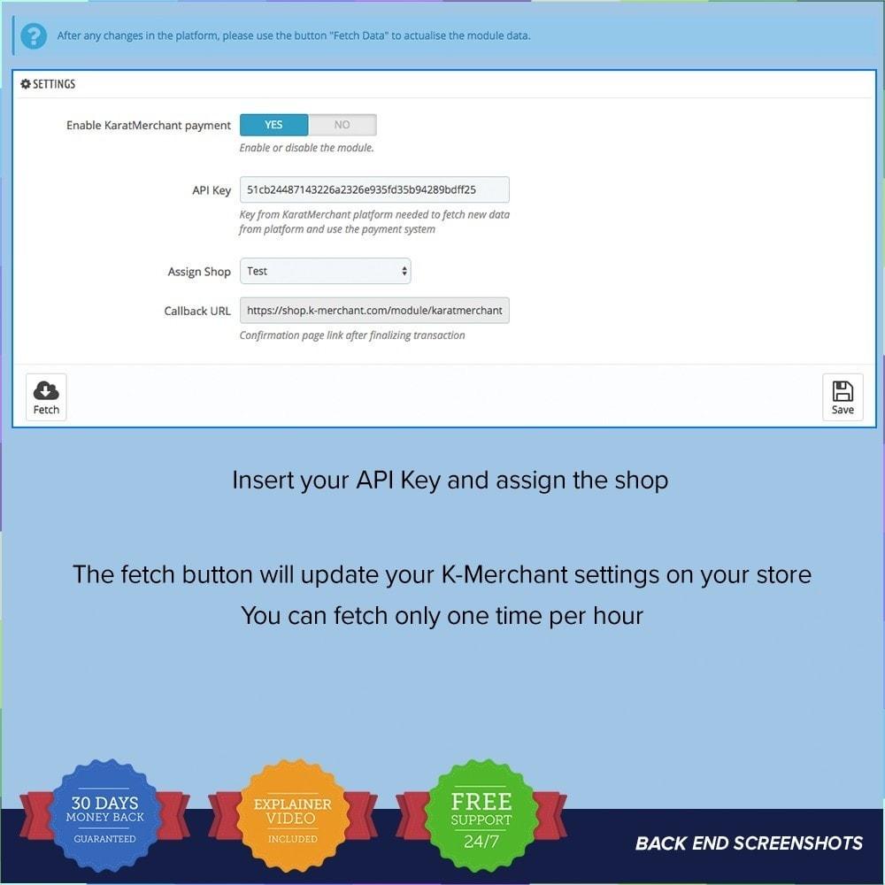 module - Autres moyens de paiement - Système de paiement K-Merchant - 1
