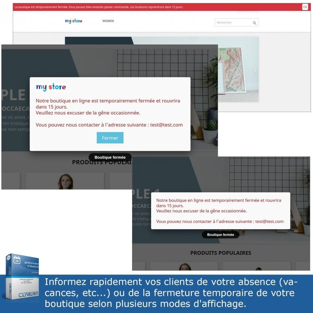 module - Service Client - Gestionnaire d'absence - 2