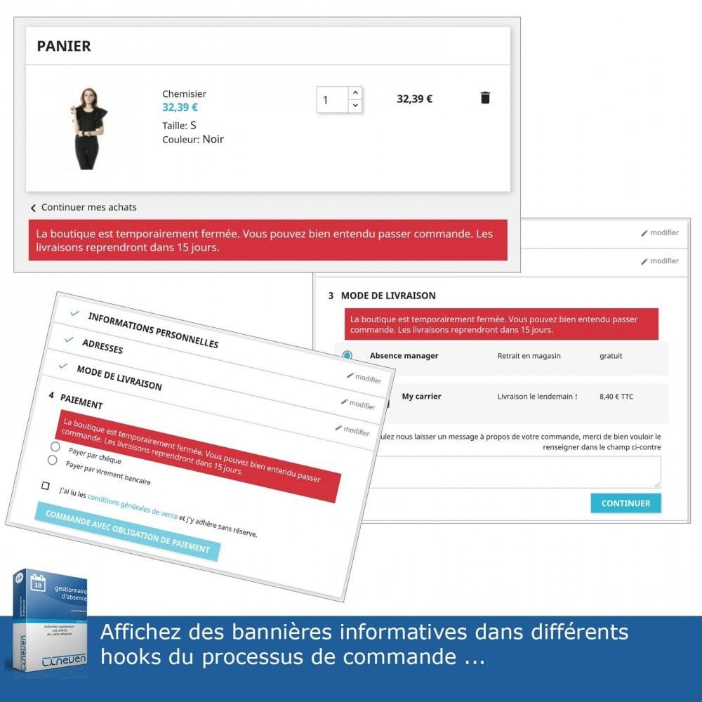 module - Service Client - Gestionnaire d'absence - 5