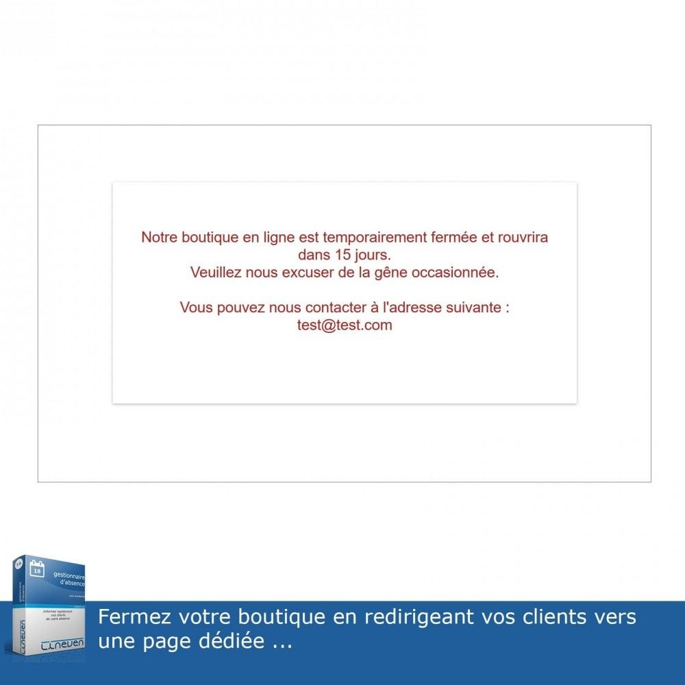 module - Service Client - Gestionnaire d'absence - 7
