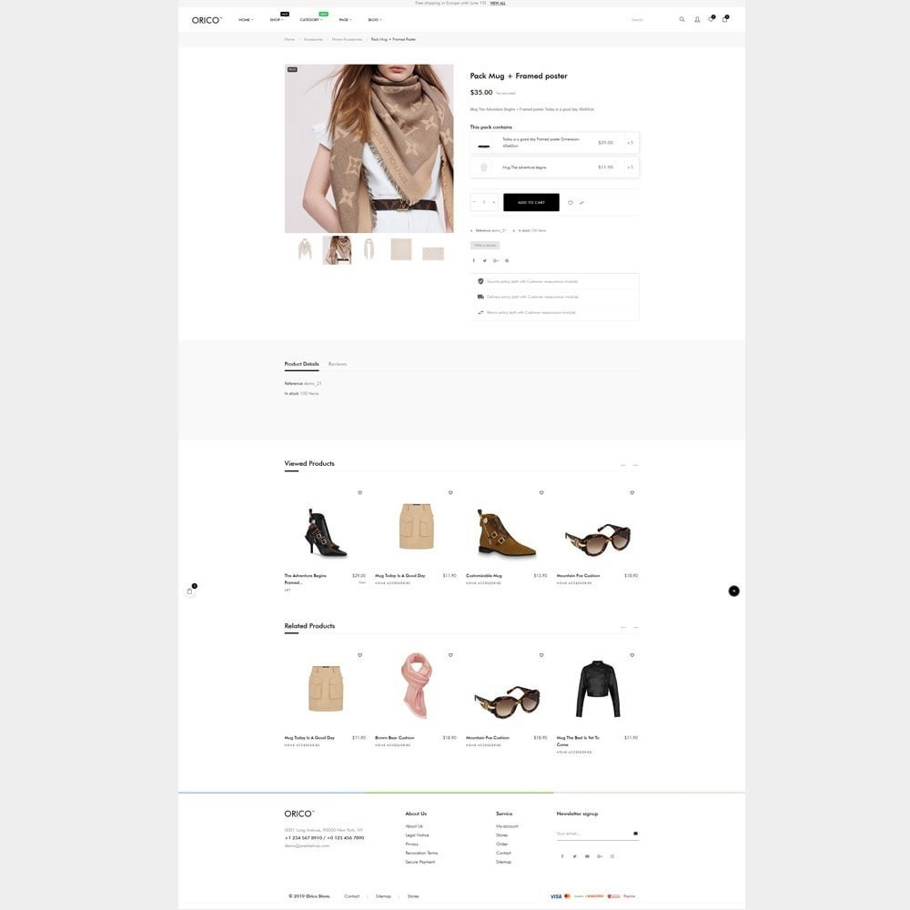 theme - Moda & Calzature - Orico Fashion Store - 3