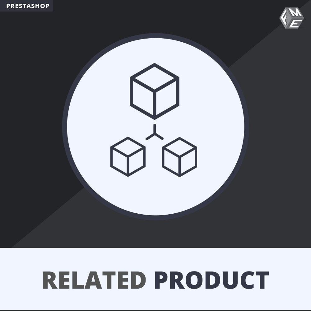 module - Ventes croisées & Packs de produits - Produits Connexes, Curseur Réactif de Produits Connexes - 1