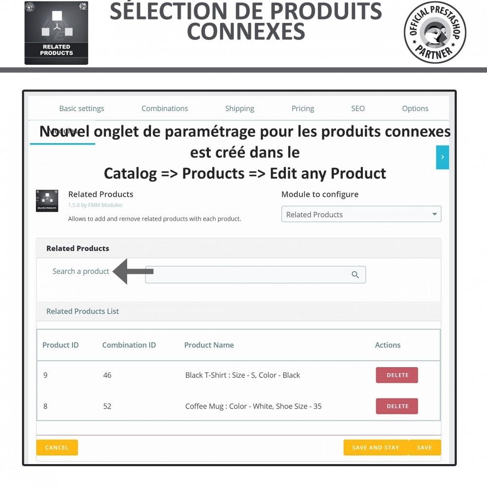 module - Ventes croisées & Packs de produits - Produits Connexes, Curseur Réactif de Produits Connexes - 6