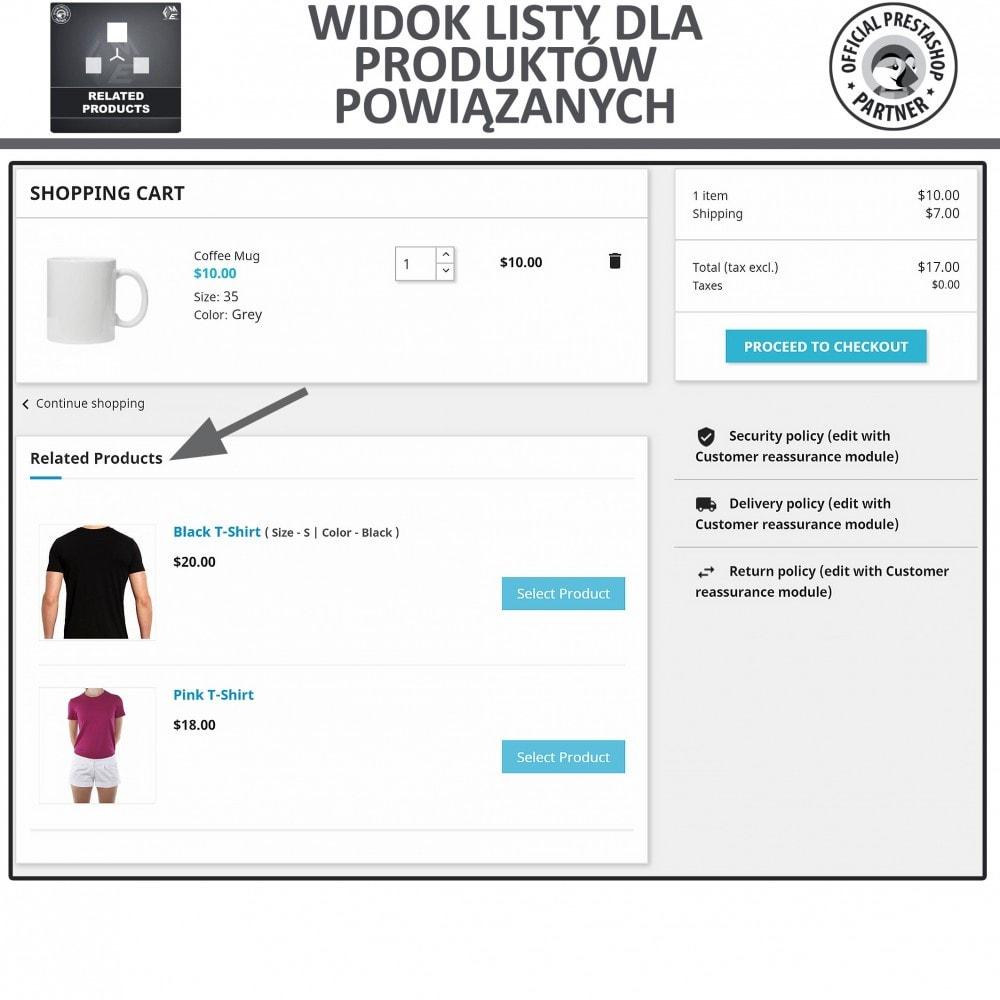 module - Sprzedaż krzyżowa & Pakiety produktów - Moduł Karuzeli Responsywnych Produktów Podobnych - 3