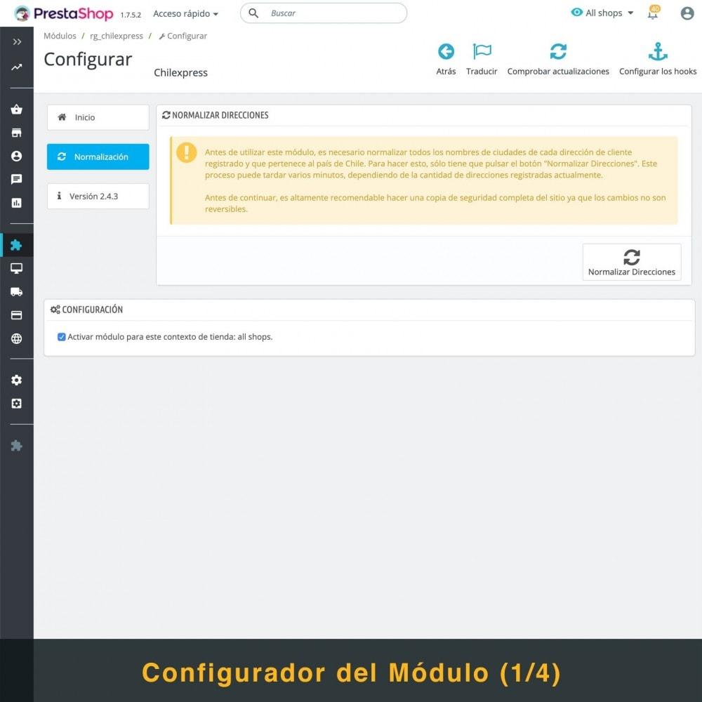 module - Transportistas - Chilexpress - 2