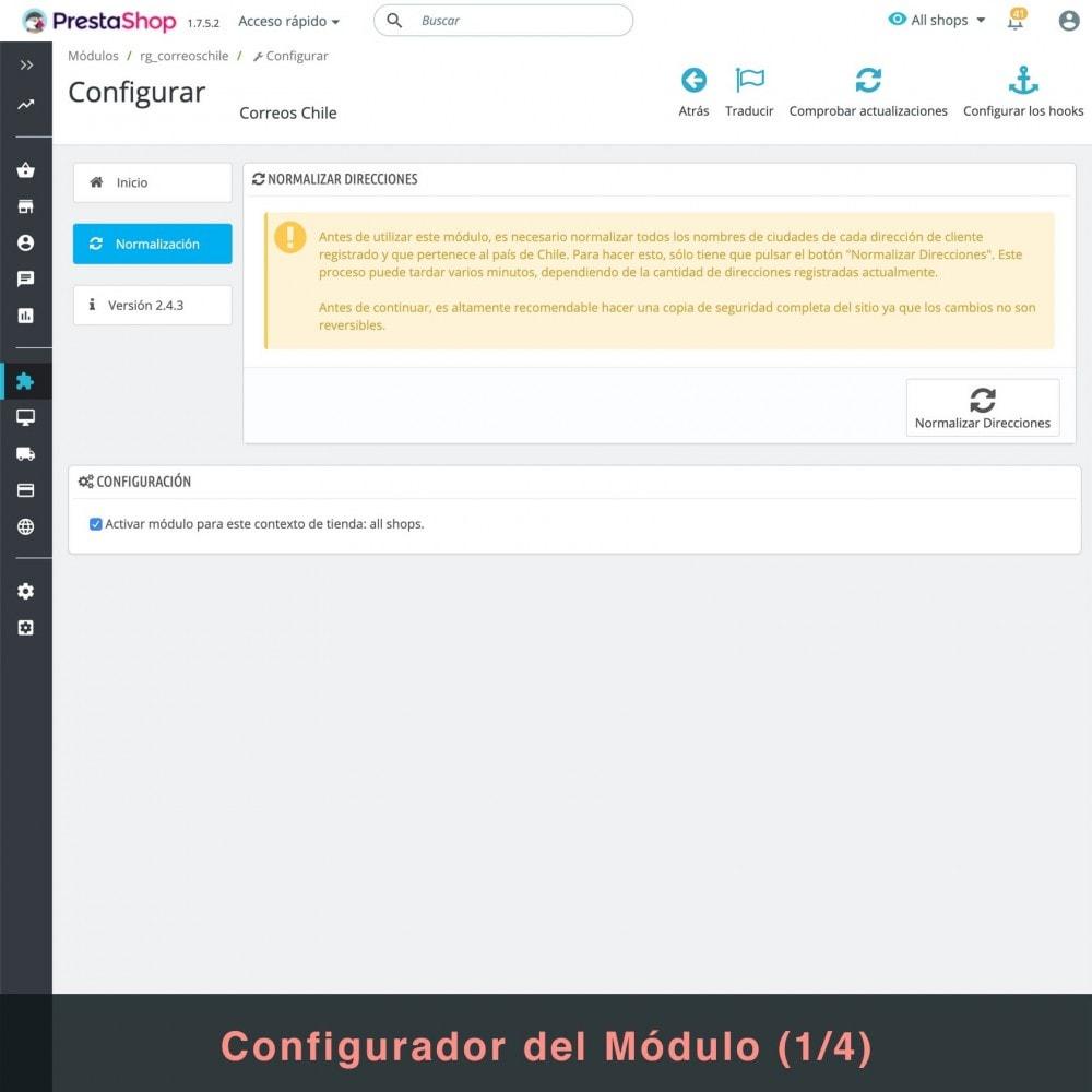 module - Verzendkosten - Correos Chile - 3