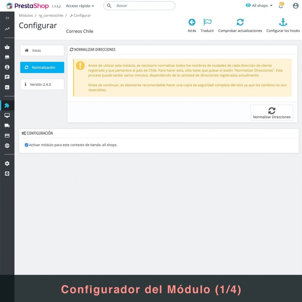 bundle - Перевозчики - Couriers (Chilexpress - Starken - Correos Chile) Pack - 3