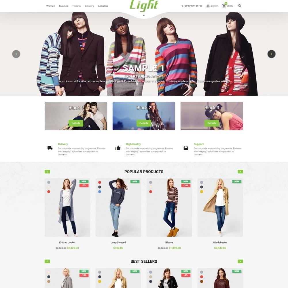 theme - Mode & Schoenen - Light Clothes Store - 2