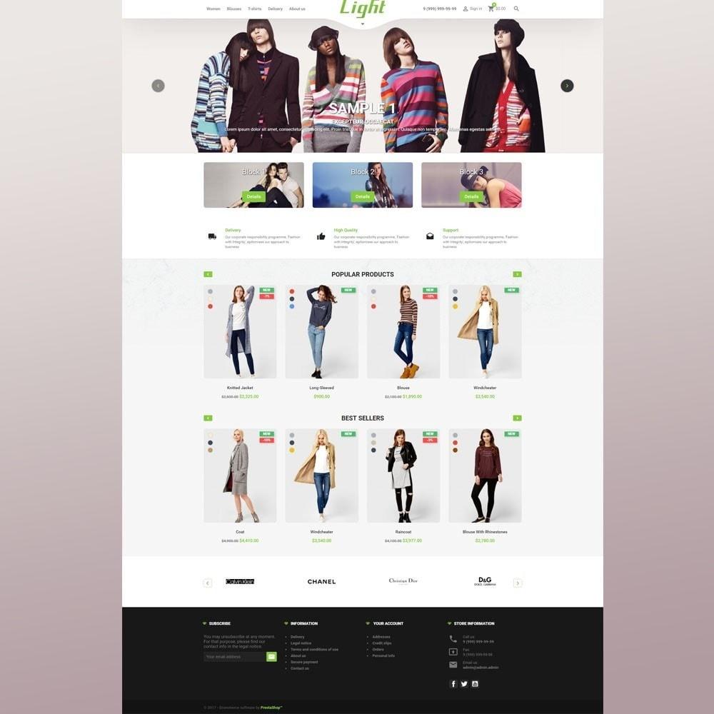 theme - Mode & Schoenen - Light Clothes Store - 3