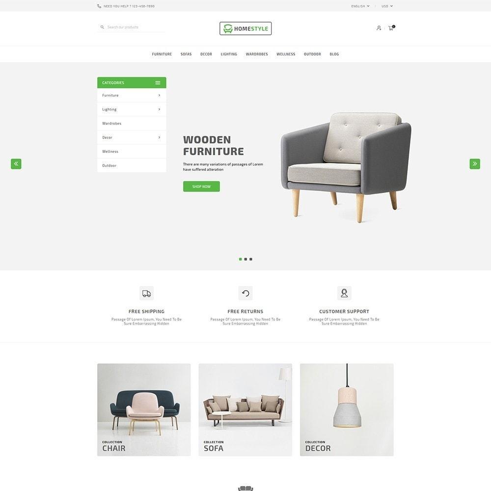 theme - Home & Garden - HomeStyle Furniture Shop - 1