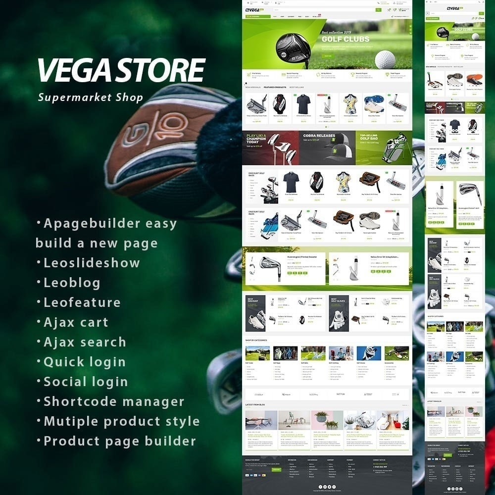theme - Elettronica & High Tech - Vega Store - 1