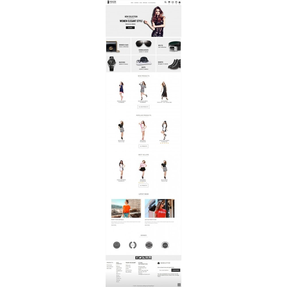 theme - Мода и обувь - Fashion Clothes Store - 4
