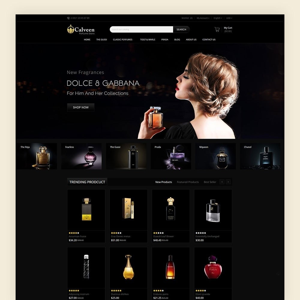theme - Moda & Obuwie - Calveen Perfume Store - 2