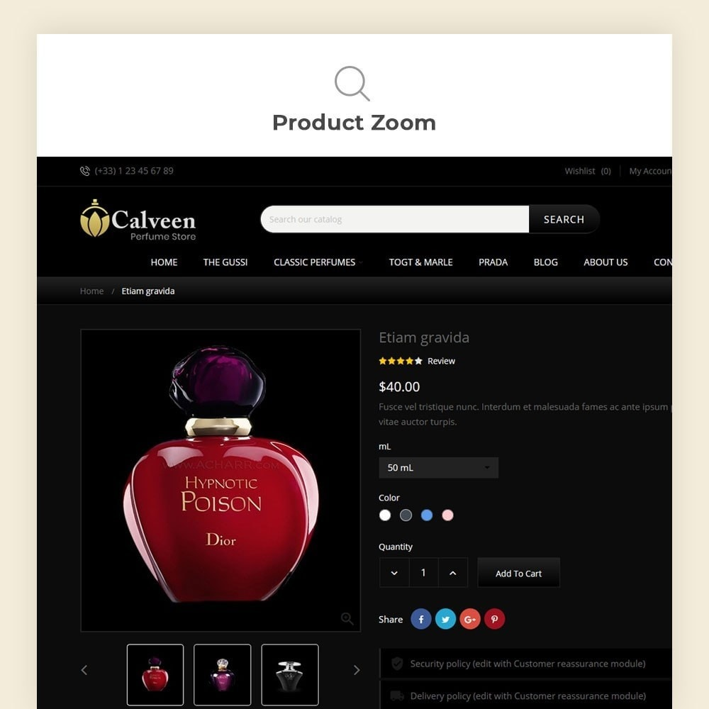 theme - Moda & Obuwie - Calveen Perfume Store - 8