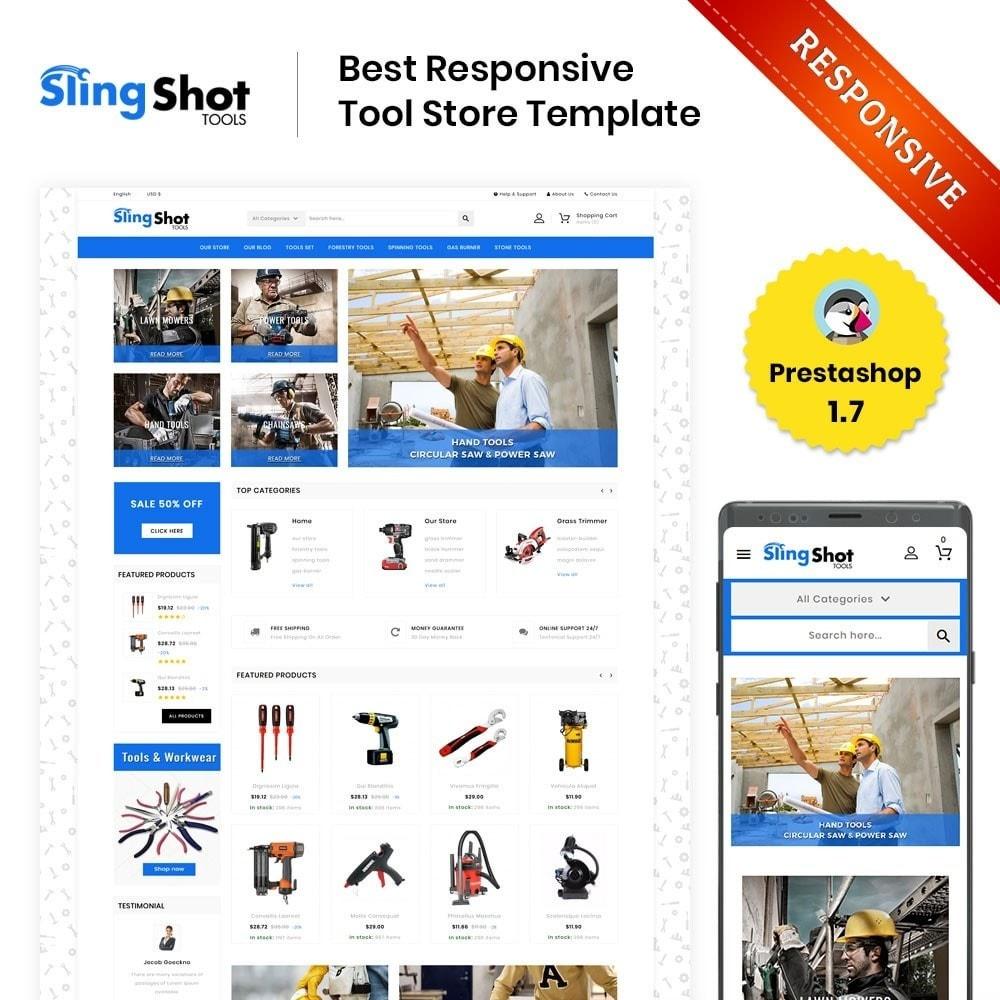 theme - Auto & Moto - Slinshot - Le magasin d'outils - 1