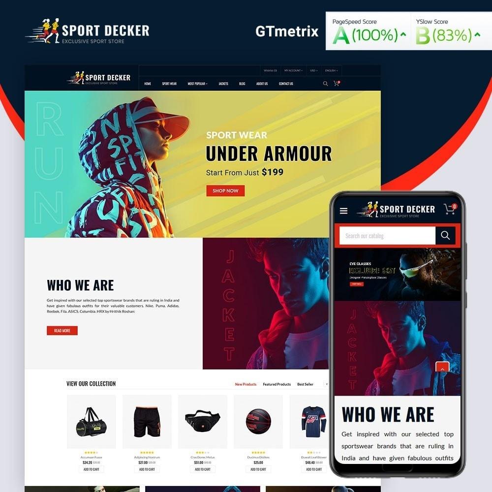 theme - Sport, Loisirs & Voyage - Sport Decker Sport Store - 2