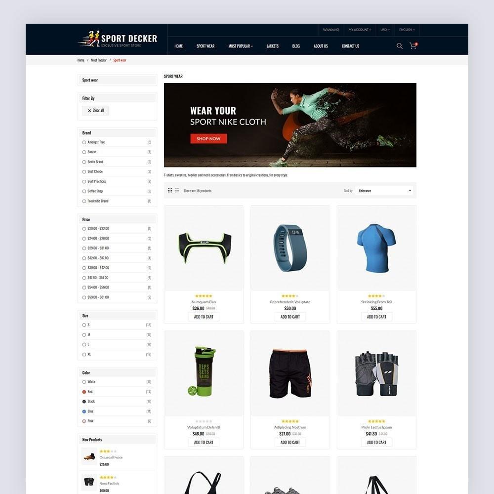 theme - Sport, Loisirs & Voyage - Sport Decker Sport Store - 6