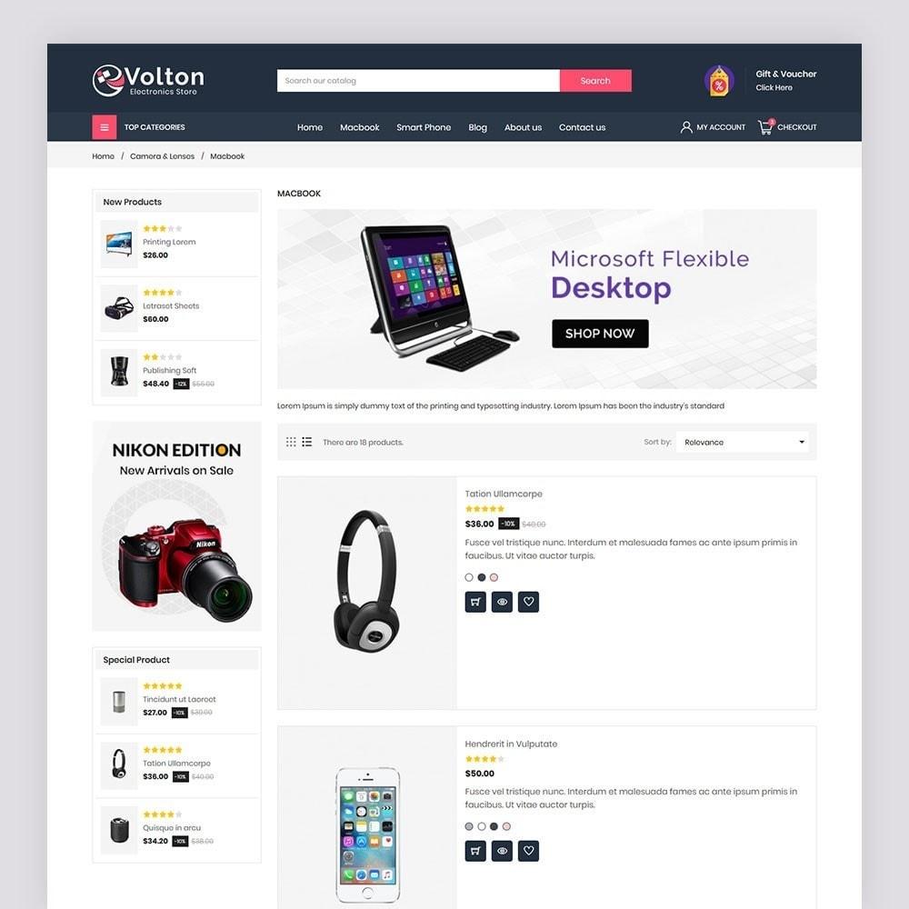 theme - Electronics & Computers - Volton Electronics Store - 6