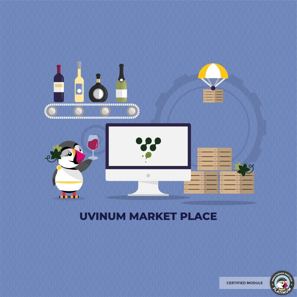module - Platforma handlowa (marketplace) - Connector with Uvinum Market Place - 1