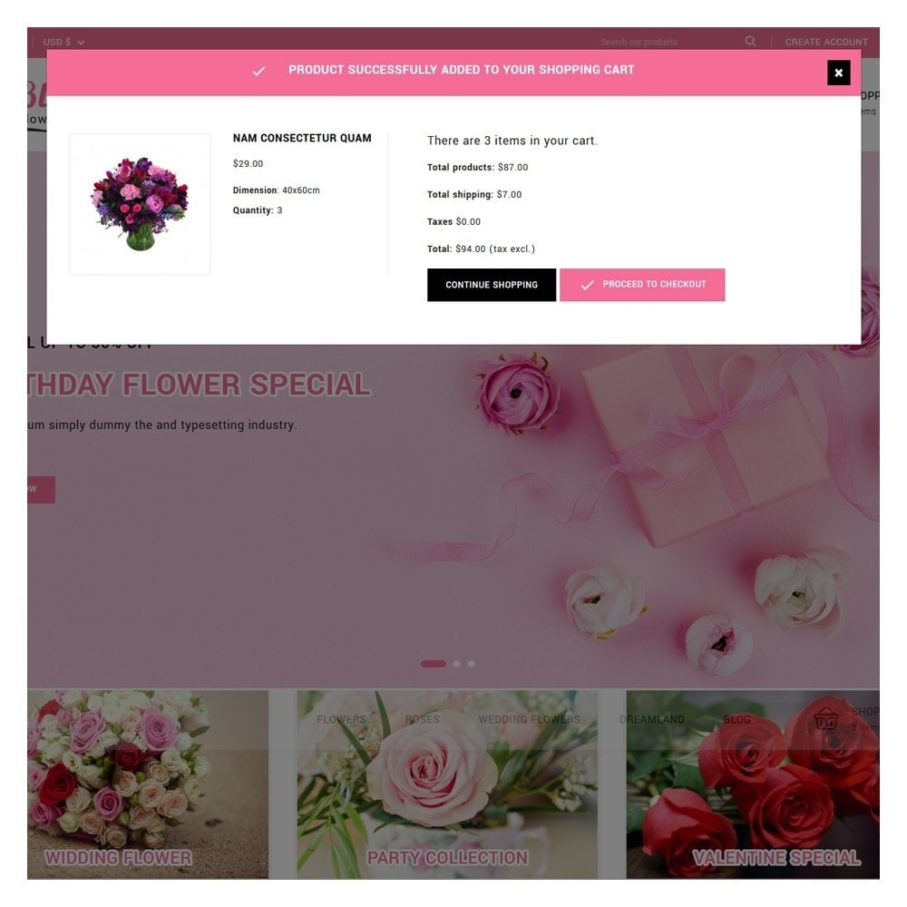 theme - Gifts, Flowers & Celebrations - Blossom Flowers & Gifts Shop - 6
