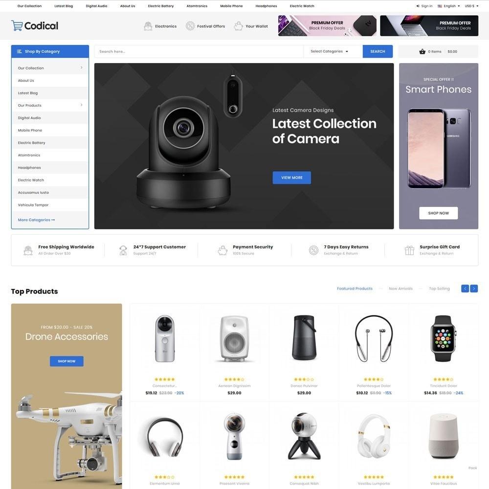 theme - Electronique & High Tech - Codical - Le magasin d'électronique Mega - 5