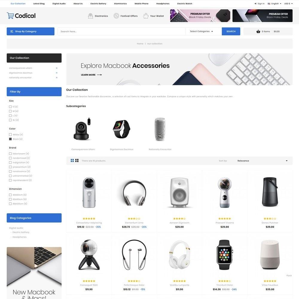 theme - Electronique & High Tech - Codical - Le magasin d'électronique Mega - 6