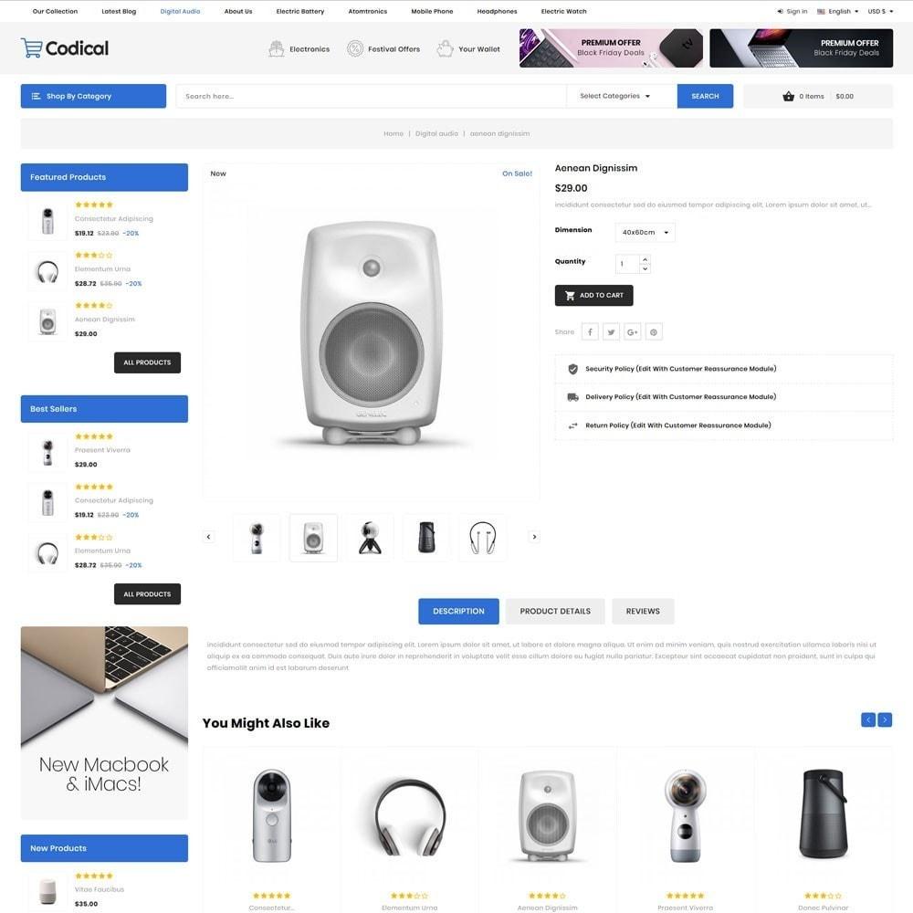 theme - Electronique & High Tech - Codical - Le magasin d'électronique Mega - 8