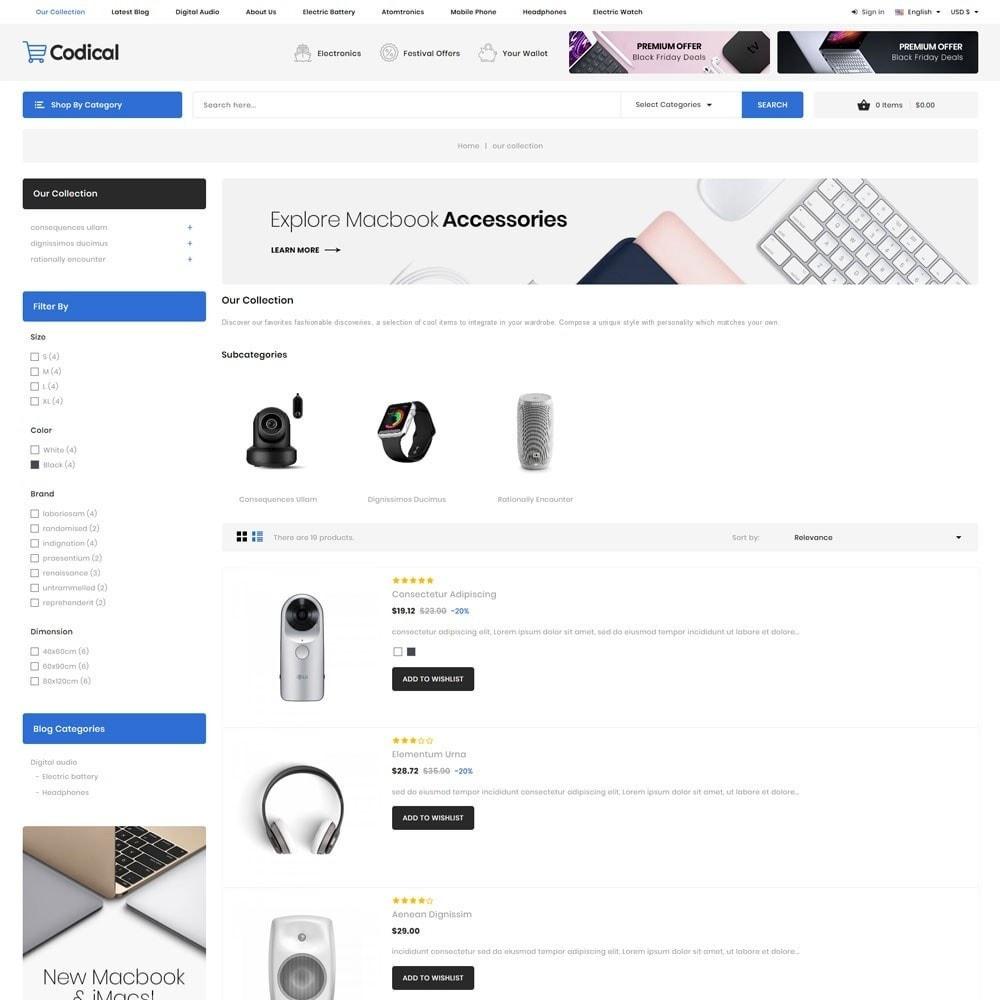 theme - Electrónica e High Tech - Codical - The Mega Electronics Store - 7
