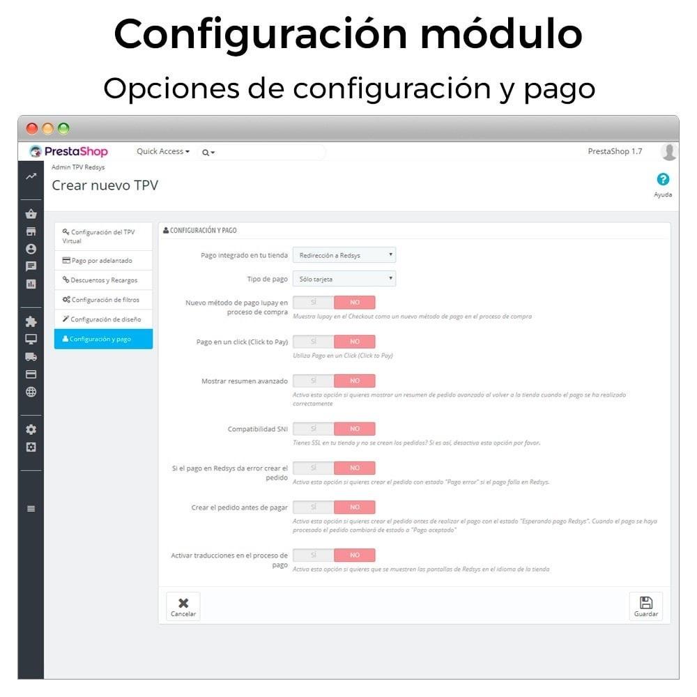 module - Pago con Tarjeta o Carteras digitales - BBVA TPV Virtual Redsys (Devoluciones y Pago un Click) - 8