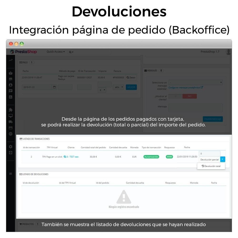 module - Pago con Tarjeta o Carteras digitales - BBVA TPV Virtual Redsys (Devoluciones y Pago un Click) - 12