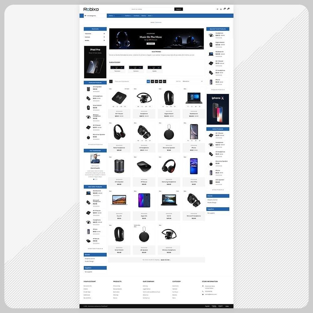 theme - Elektronica & High Tech - Robixo– Electronic Super Mall - 3
