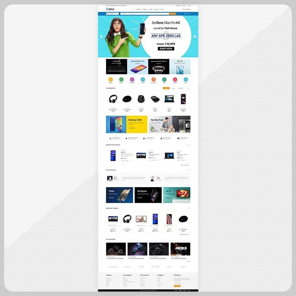 theme - Electronics & Computers - Zepica– Electronic Mega Store - 2