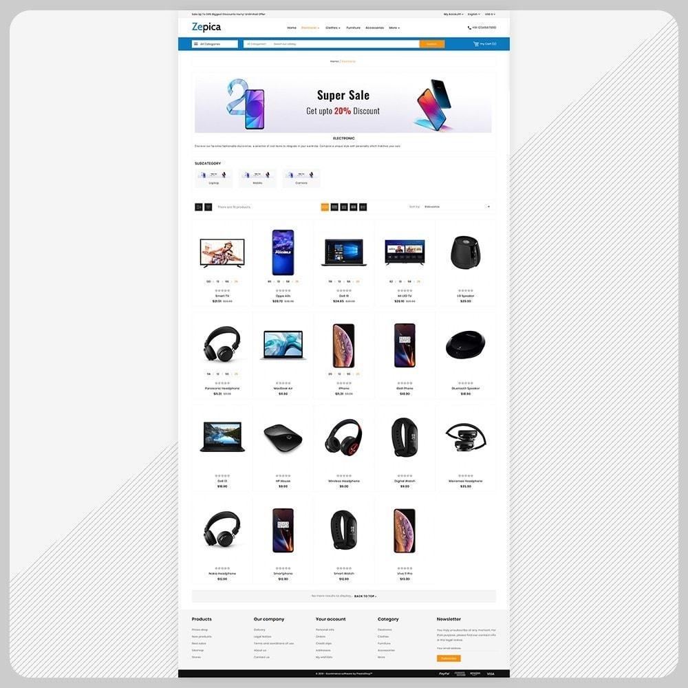 theme - Electronics & Computers - Zepica– Electronic Mega Store - 3