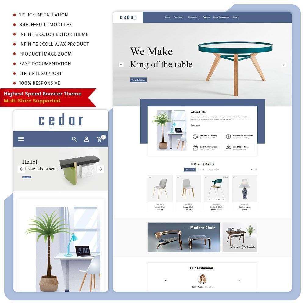 theme - Home & Garden - Wood Cedar– Furniture Big Store - 1