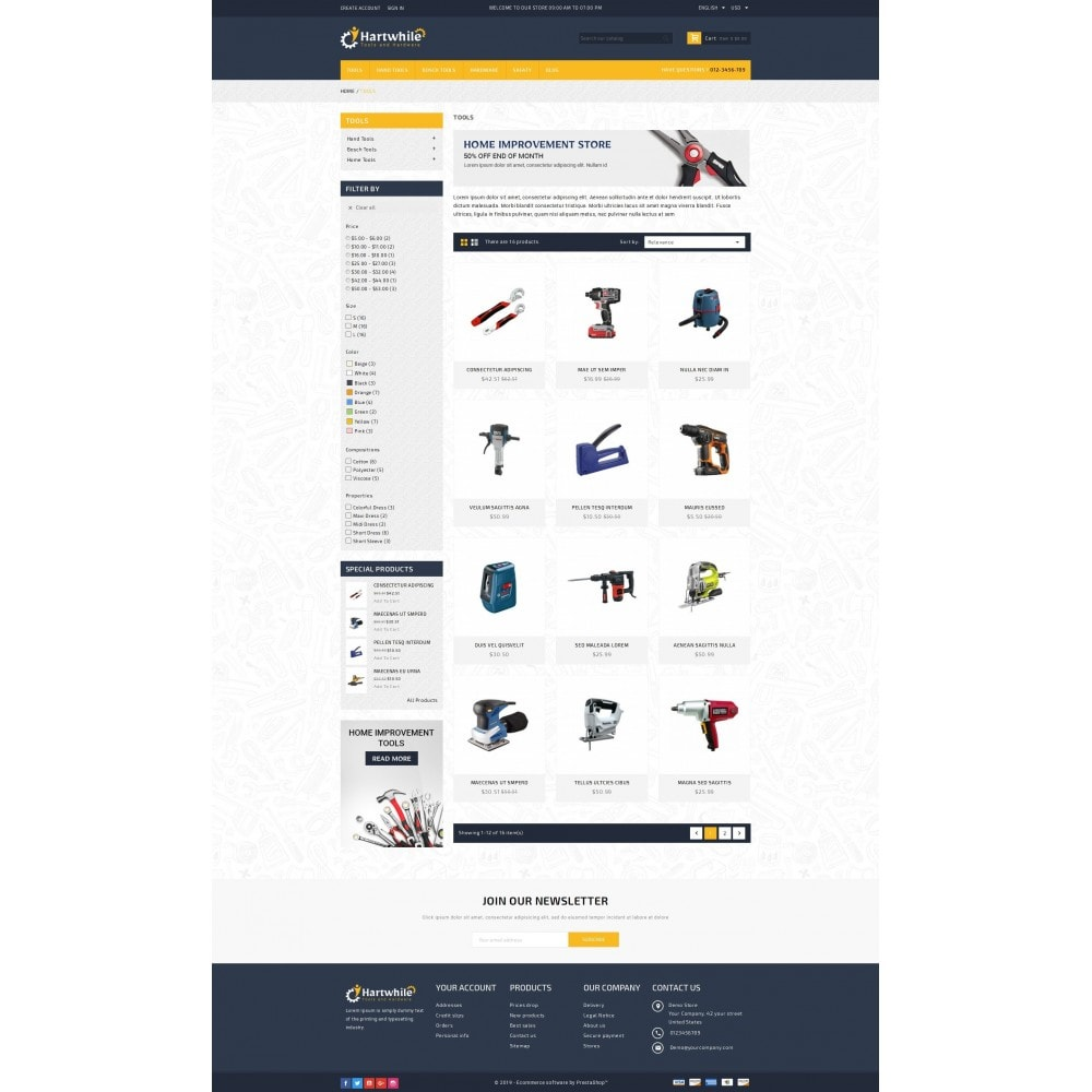 theme - Coches y Motos - Tools & Hardware Store - 3