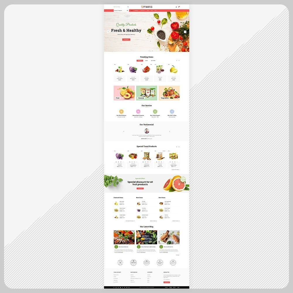 theme - Health & Beauty - Fresh G– Grocery Mega Mall - 2