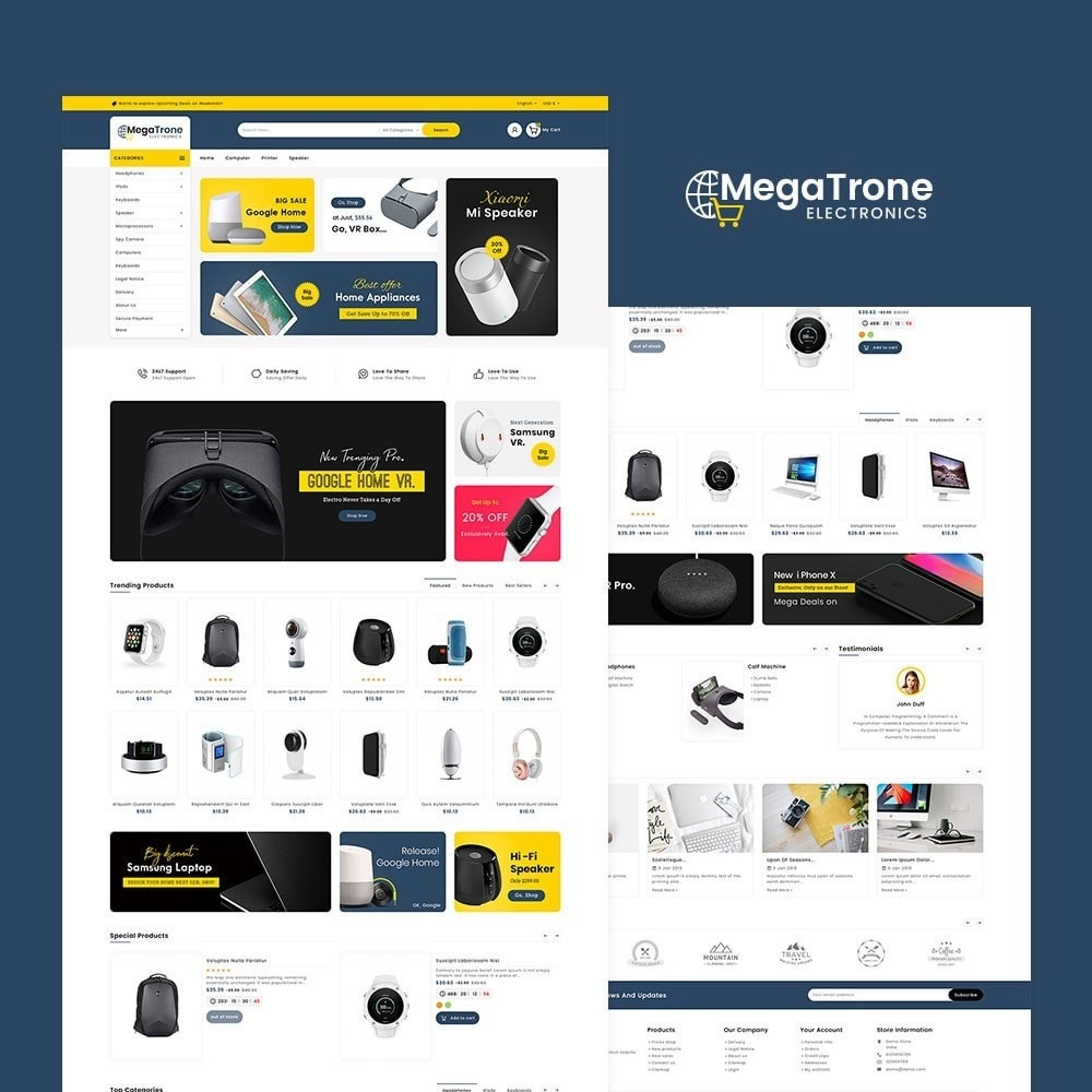 theme - Electronics & Computers - Mega Trone Electronics - 2